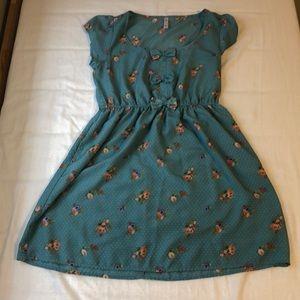 Xhileration floral print dress